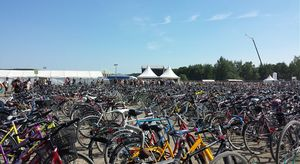 biggest bicycle park