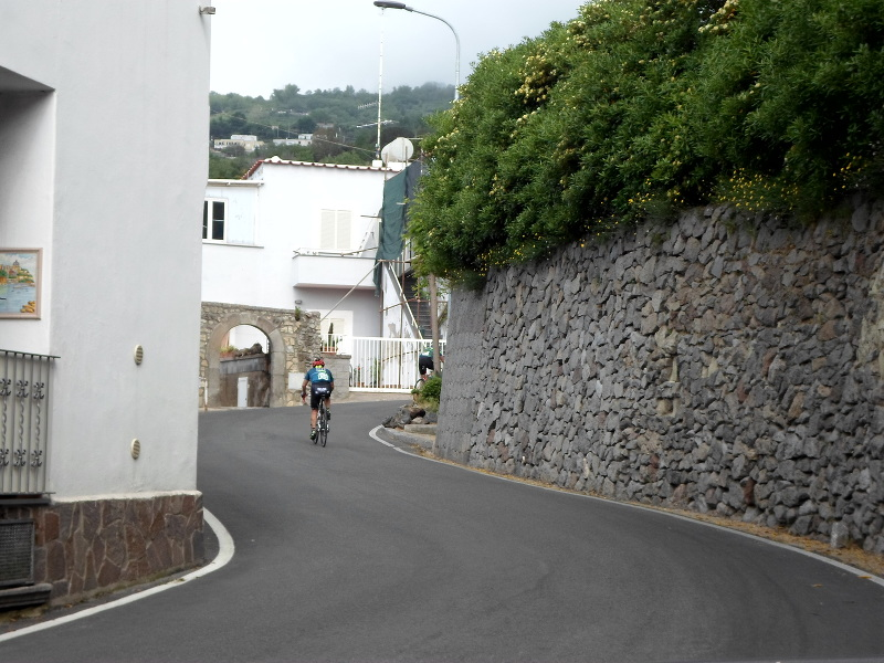 cycling descent Ischia