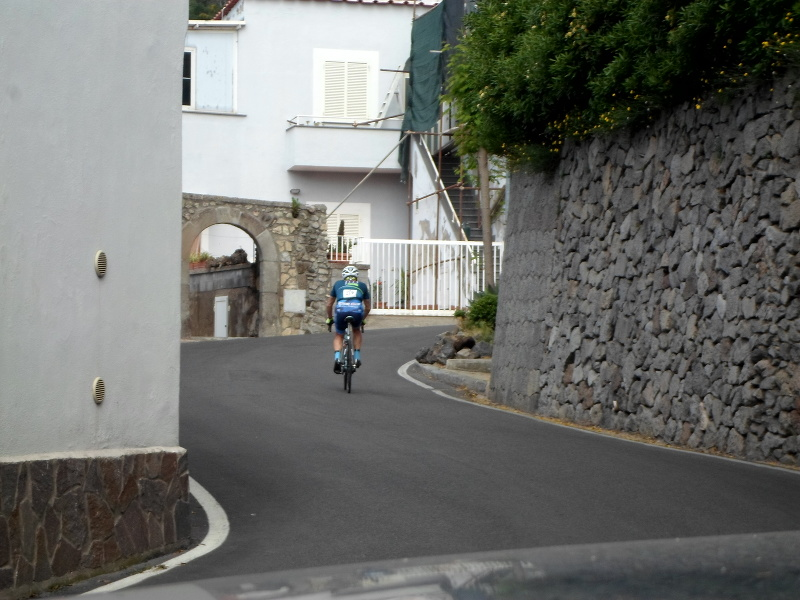 Ischia 100 descent cycling