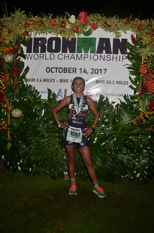 Mariana Lara Albert triathlon Hawaii